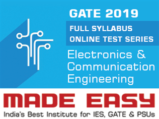 GATE 2019 Full Syllabus Online Test Series (ECE)